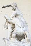 Heracles and Nessus by Giambologna royalty free stock photo