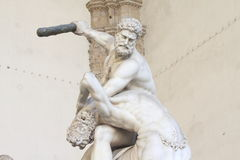 Heracles and Nessus by Giambologna Stock Image