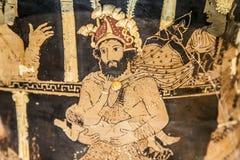 Heracles niepoczytalność na teatrze Obraz Royalty Free