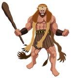 Heracles su bianco illustrazione vettoriale