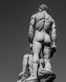 Heracles und Cacus Stockfoto