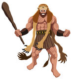 Heracles on White Stock Images