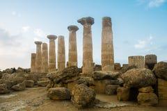 Herakles świątynia Zdjęcie Stock