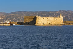 Heraklio city at Crete island in Greece Stock Images