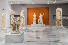 Heraklion Archaeological Museum at Crete, Greece. CRETE, GREECE - JULY 26, 2015: Heraklion Archaeological Museum, it is contains the most notable and complete Stock Image