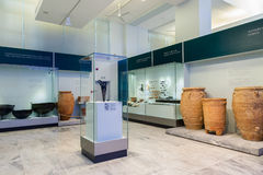 Heraklion Archaeological Museum at Crete, Greece Royalty Free Stock Images