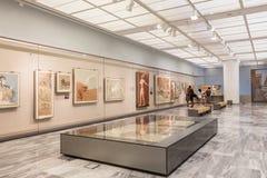 Heraklion Archaeological Museum at Crete, Greece stock photo