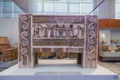 Heraklion Archaeological Museum at Crete, Greece Stock Image