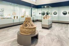 Heraklion arkeologiskt museum på Kreta, Grekland Arkivbilder