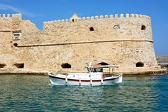 Heraklion castle, Crete. Stock Photos