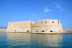 Heraklion castle, Crete. Stock Photo