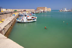 Heraklion crete Royalty Free Stock Photo