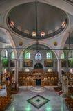 Heraklion Crete, Grecja,/: Świątynia ażio Titos jest Ortodoksalnym kościół w Heraklion, Crete, dedykujący święty Titus Obraz Royalty Free