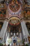 Heraklion Crete, Grecja,/: Ażio Minas katedra jest Greckokatolickim katedrą w Heraklion Zdjęcia Stock