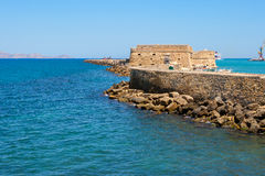 Heraklion Fortress. Crete, Greece Stock Photo