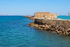 Heraklion Fortress. Crete, Greece stock photo
