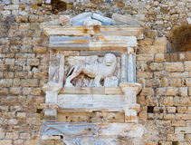 Heraklion fortress Crete, Greece Royalty Free Stock Photos