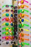 Heraklion Grecja, Lipiec, - 23, 2014: Okulary przeciwsłoneczni Ray-Ban w sklepie Obraz Royalty Free
