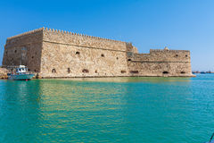 Heraklion Harbour and Fortress, Crete Stock Photo