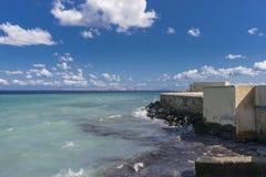 Heraklion port Royaltyfria Bilder