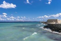 Heraklion port Arkivbilder