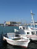 Heraklion port stock photos