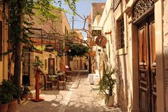 Heraklion port, Crete Greece Stock Photo