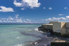 Heraklion port Royalty Free Stock Images