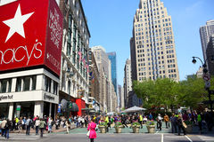 Herald Square in New York City Royalty Free Stock Photo