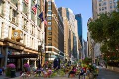 Herald Square och Broadway Fotografering för Bildbyråer