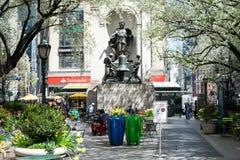 Herald Square Park em New York City Imagens de Stock Royalty Free