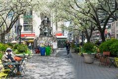 Herald Square Park em New York City Foto de Stock Royalty Free