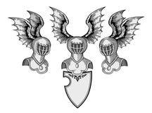 heraldic вектор Стоковое Фото