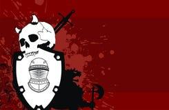 Heraldic герб backgroundv8 Стоковая Фотография