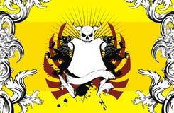 Heraldic герб backgroundv9 Стоковые Фотографии RF