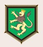 Heraldic гребень льва Стоковое фото RF
