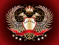 heraldic знак Стоковые Изображения