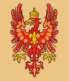 Heraldic орел Стоковое Изображение RF