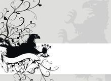 Heraldic пальто gryphon рукояток 2 Стоковая Фотография