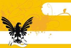 Heraldic предпосылка 6 орла Стоковая Фотография RF