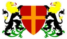 heraldic экран Стоковые Изображения RF