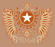 heraldic экран Стоковые Фото