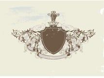 heraldic экран Стоковые Изображения