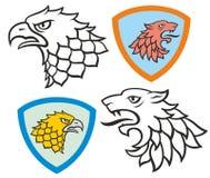 heraldic Immagine Stock