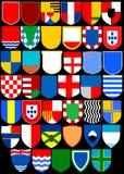 Heraldic album. Shields. (Vector)  Page 3 Stock Photos