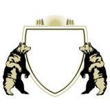 Heraldic animal bear Royalty Free Stock Image