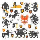 Heraldic Animals And Elements 2 Stock Image
