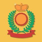 Heraldic award Stock Image