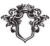 Heraldic coat of arms Royalty Free Stock Photo