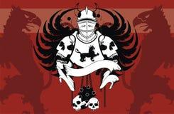 Heraldic coat of arms backgroundv00. Heraldic coat of arms background in format very easy to edit stock illustration